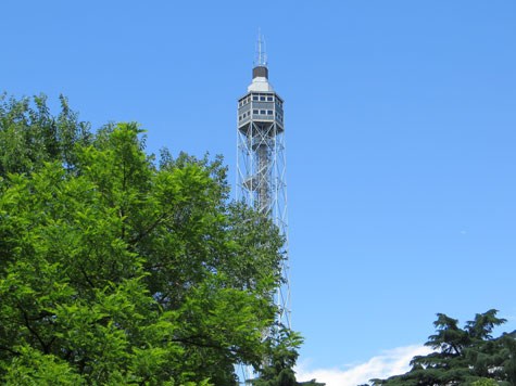 Branca Tower in Milan Italy