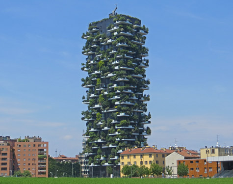 Vertical Forest in Milan Italy